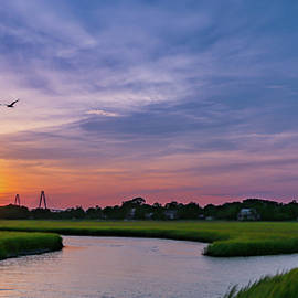 Shem Creek Sunset 1 by Todd Wise