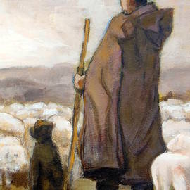 Shepherd by Alfons Niex