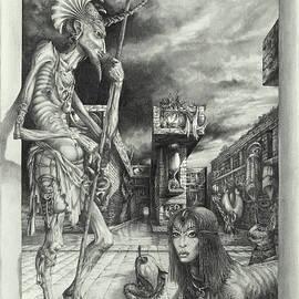 Shepherd of the Sphinx by Otto Rapp