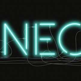 Shineonu - Neon Sign 1 by David Hargreaves