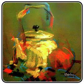 Carlos Frey - Shiny Brass Pot