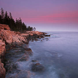 Juergen Roth - Ship Harbor Sunset in Maine Acadia National Park