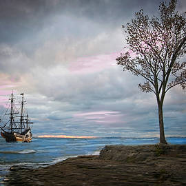 Ship in a Storm by Mary Timman