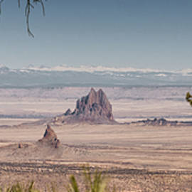 Brian Harig - Shiprock From Arizona Panorama - New Mexico