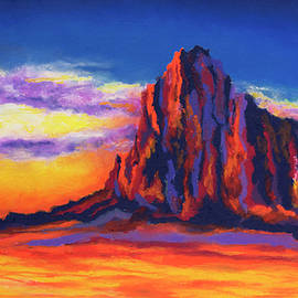 Stephen Anderson - Shiprock Mountain