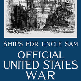 War Is Hell Store - Ships For Uncle Sam - WW1