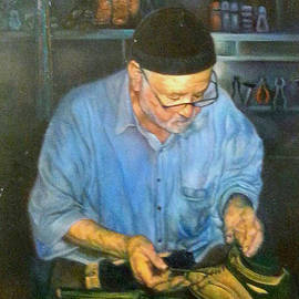 Farideh Haghshenas - Shoemaker at Work