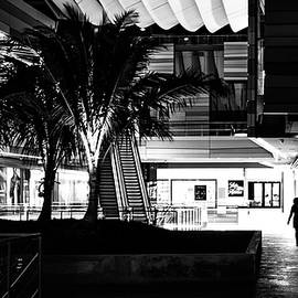 Giuseppe Milo - Shopping - Miami, Florida - Black and white street photography