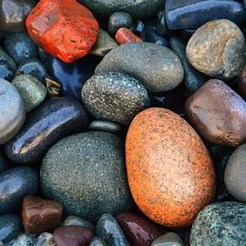 Shoreline Rocks of Maine by Kim Blaylock