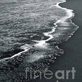 Shorelineb/w by Mary Kobet