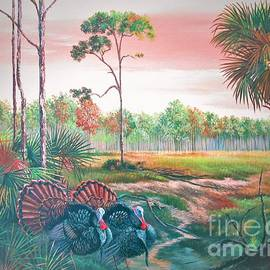 Daniel Butler - Show Offs- Florida Osceola Turkeys.