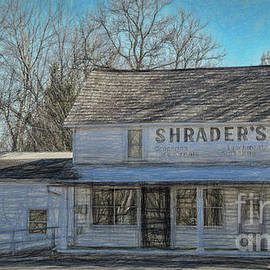 Shrader's Groceries and Ice Cream by Janice Pariza