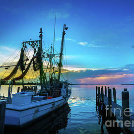 Shrimp Boat Sunset - Jon Neidert