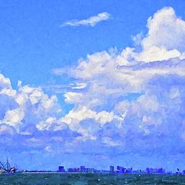 Shrimpers Clouds by Alice Gipson
