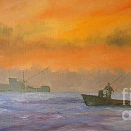Keith Wilkie - Shrimping Sunrise