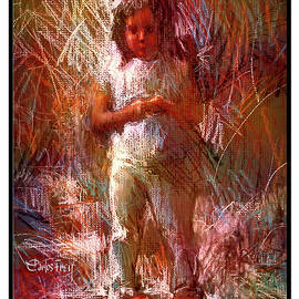 Carlos Frey - Shy Young Girl - Book Cover