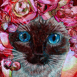 Michele Avanti - Siamese Kitty Valentine