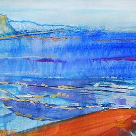 Sidmouth Seaside Painting by Mike Jory
