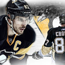 Sidney Crosby Artwork by Nicholas Legault