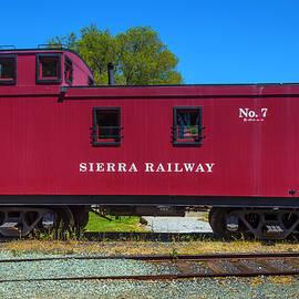 Garry Gay - Sierra Railway Red Caboose No 7