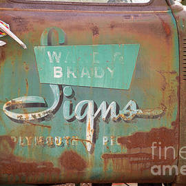Alana Ranney - Sign on Old Truck