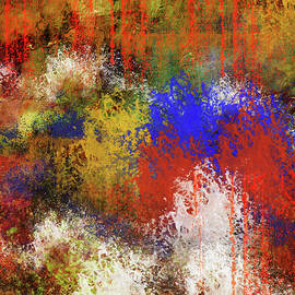 Silent Expression Abstract by Georgiana Romanovna