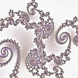 Georgiana Romanovna - Silken Dragon Abstract