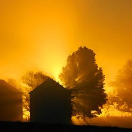 Silo Sunrise by Sam Davis Johnson