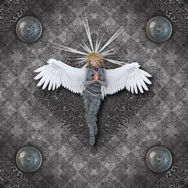 Charm Angels - Silver Praying Angel