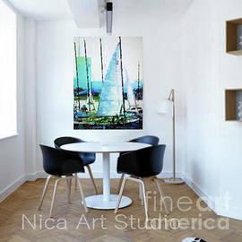 Simulation 26 by Nica Art Studio
