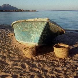 Sinai Beach Boat by Noa Yerushalmi