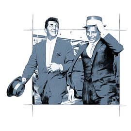 Sinatra and Martin - Greg Joens