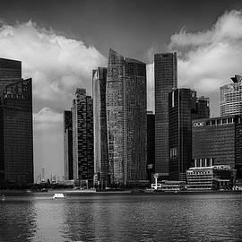 Singapore Skyline by Joseph Hollingsworth