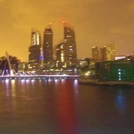 Singapore Sunrise 2 by Phyllis Spoor