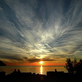 David T Wilkinson - Sister Bay Sunset