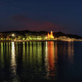 Sitges Night 001 by Lance Vaughn