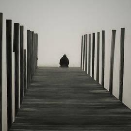 Sitting On The Dock by David Gordon