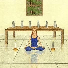 Kathy Pullen - Six of Obelisks