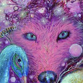 Sixth Chakra Totem Wolf  Angel by Ashleigh Dyan Bayer