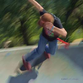 Kae Cheatham - Skateboard Action