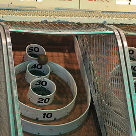 Skee Ball At Marty's Playland by Robert Banach
