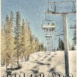 Ski Colorado by Juli Scalzi