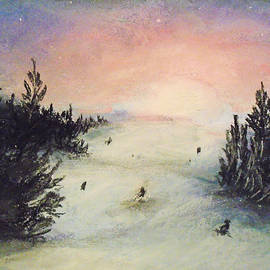 Ski Glisten by Jen Shearer