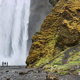 Skogafoss Waterfall # 3 by Allen Beatty