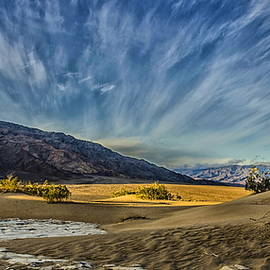 Sky at Mesquite Dunes by Jim Cook