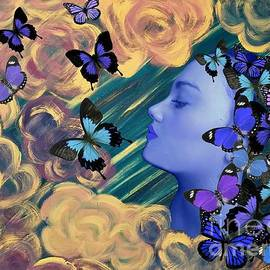 Sky Maiden by Diamante Lavendar