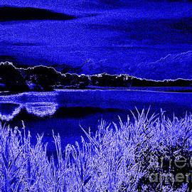 Sky of Blue Moon by Rick Maxwell