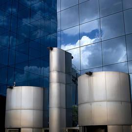 Sky Reflected by Lorraine Devon Wilke
