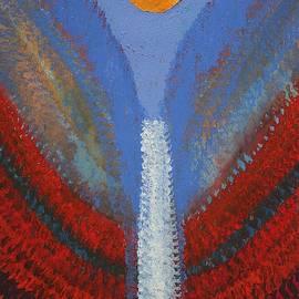 Sol Luckman - Skyfall original painting