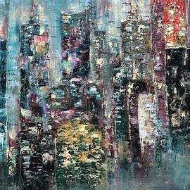 Dora Kali - Skyline New York by night